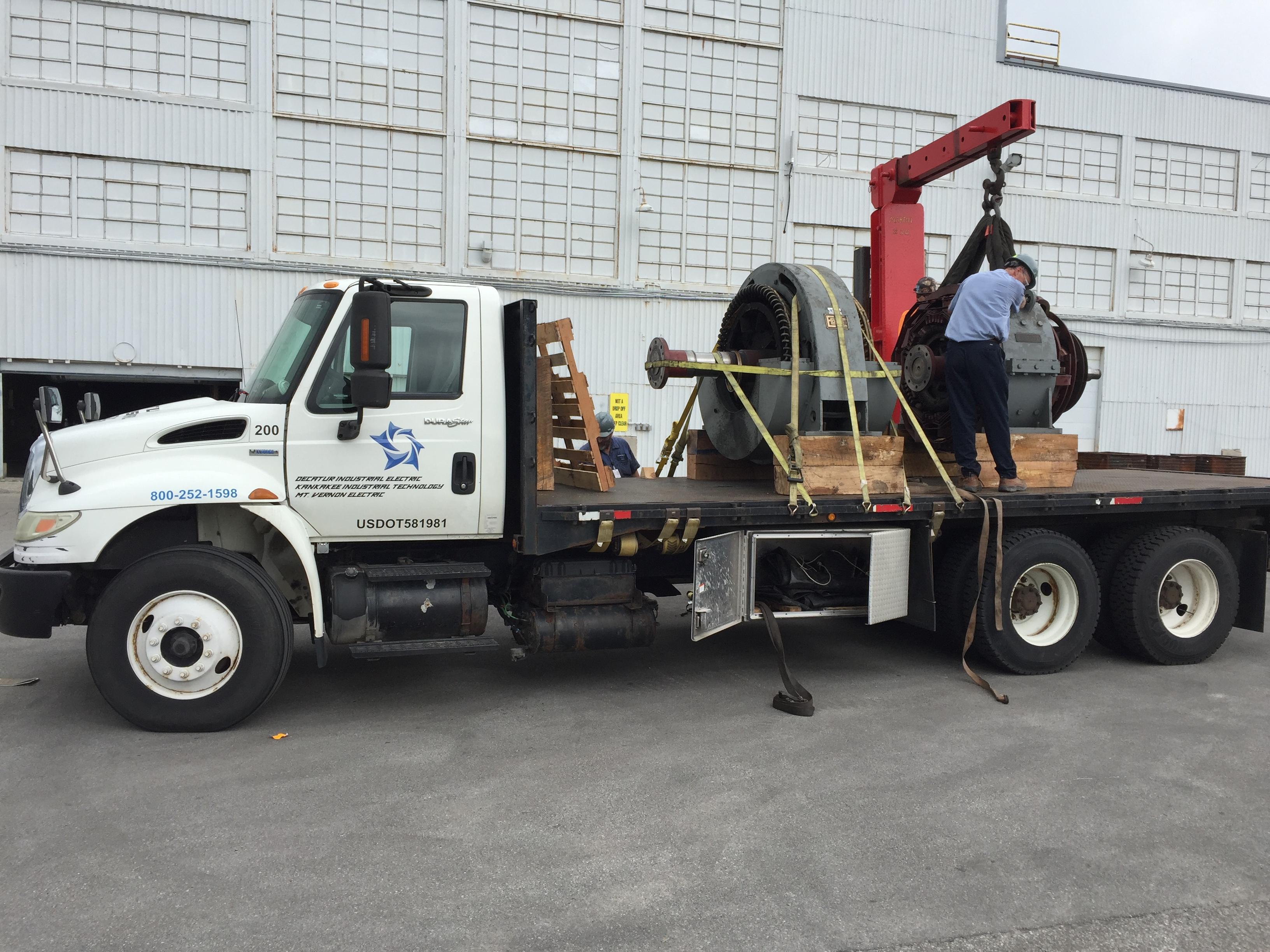 Overhead Crane Vibration : Field services