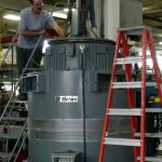 2500hp Vertical Motor Disassembly