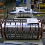 Medium Voltage Rotor Assembly Staging