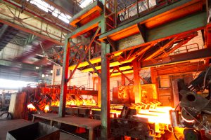 steel making industry
