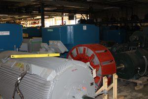 Large motor storage
